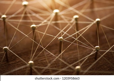 Congested , unorganized or complicated network. Linking entities. Monotone. Networking, social media, SNS, internet communication abstract.