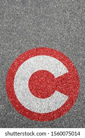 Congestion charge London city toll road street town pay paying clean air portrait format sign zone concept