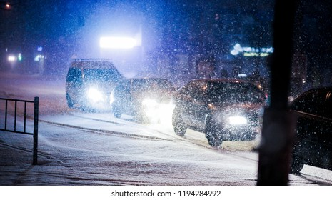 congestion in the snowfall