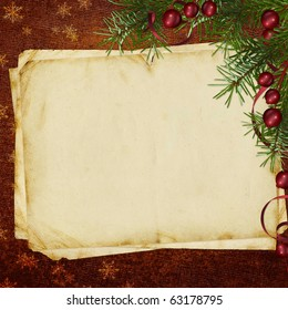 Congratulation card to Christmas and New year