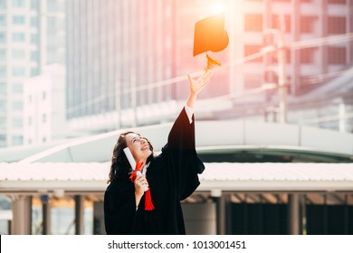 congratulations,education ,happy student in graduation,