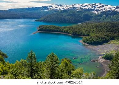 Conguillio lake, Chile