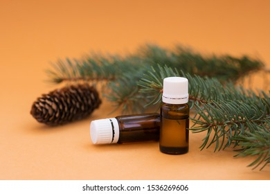 coniferous essential oil with cinnamon and anise