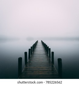 Coniston Water Jetty - The Lake District UK