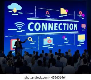 Connection Communication Link Digital Social Concept