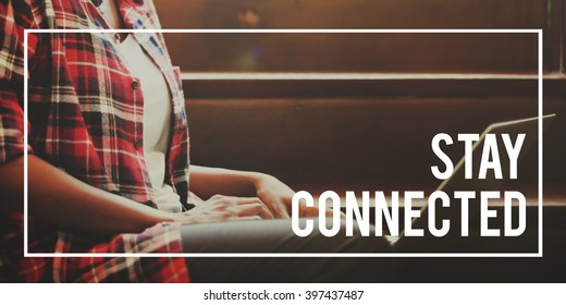 Connection Online Global Communication Concept