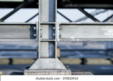Connections between steel and concrete