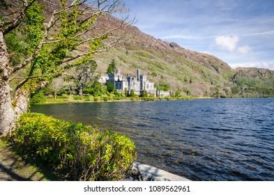 Connemara County Galway/ Ireland/ 2016:04:14/ Kylemore Abbey and Victorian Walled Garden