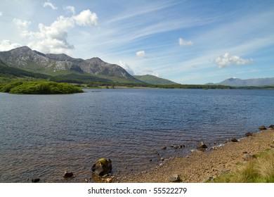 Connemara Mountains scenery