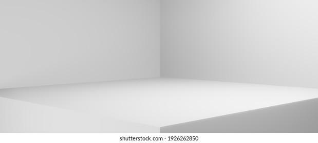 conner of white room background wallpaper