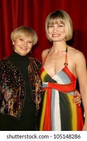 Connie Riffel and Rena Riffel at the Los Angeles Premiere of 'Trasharella'. Lions Gate Screening Room, Santa Monica, CA. 05-09-09