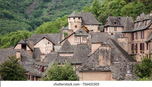 Conques. French commune located in the department of Aveyron. France