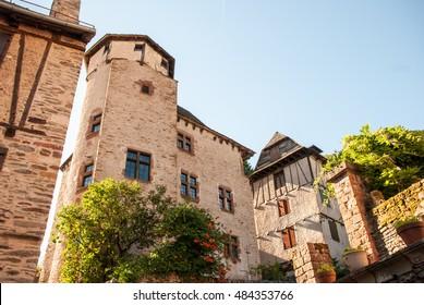 Conques medieval village, France