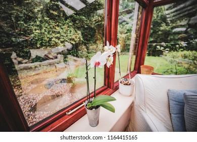 conservatory interior house