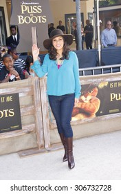Constance Marie at the Los Angeles premiere of 'Puss In Boots' held at the Regency Village Theater in Westwood, USA on October 23, 2011.
