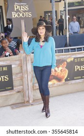 """Constance Marie at the Los Angeles Premiere of """"Puss In Boots"""" held at the Regency Village Theater in Westwood, California, United States on October 23, 2011."""