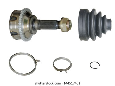Constant velocity joints, bearing repair kit , isolated on a white background