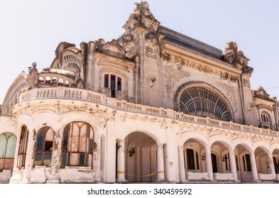 Constanta Casino Was Considered To Be The Countries Very Own Monte Carlo, Abandoned Remains Are Now All That Left Of Romania Majestic, Romania, East Europe