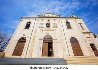 CONSTANTA, ROMANIA- 21 APRIL, 2019: Greek Church Transfiguration -Metamorphosis