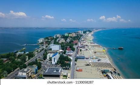 Constanta Romania Mamaia beach