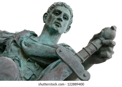 Constantine the Great - Roman Emperor and founder of Constantinopole, who united the whole of the Roman Empire under one ruler