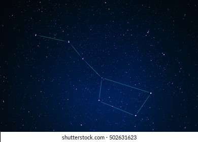 Constellations. Ursa Major (Great bear)