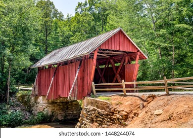 Constructed in 1909 near Landrum, Campbell's Covered Bridge is the only remaining covered bridge in the State of South Carolina.