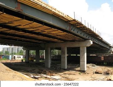 construction of the bridge
