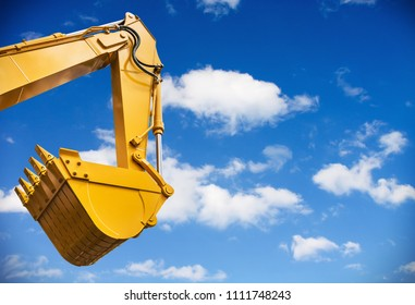 construction bucket, tractor, excavator, grader, etc. Parts of construction equipment