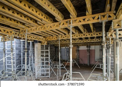Construction of building. - Shutterstock ID 378071590