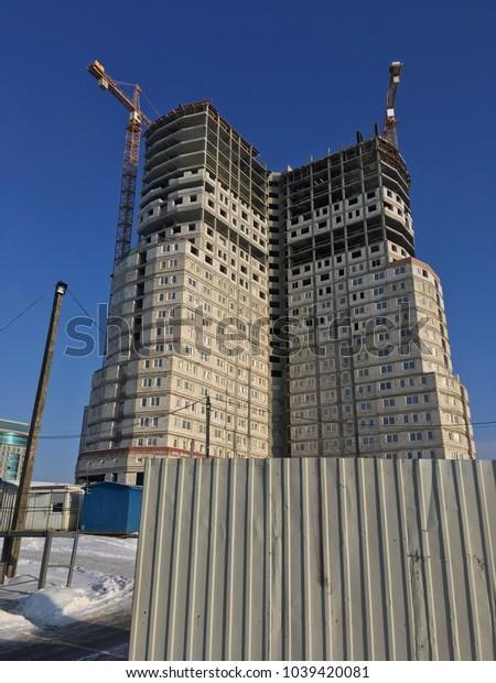 construction building crane