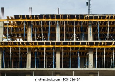 construction  building formwork and concrete floors