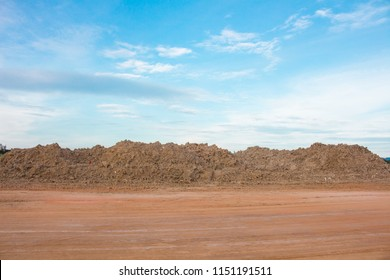The Construction clay, in working area