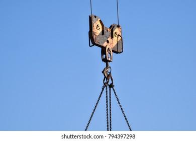 construction crane detail