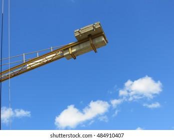 construction crane machine