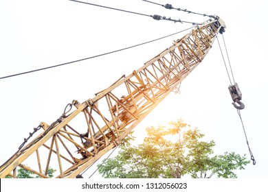 construction crane settings
