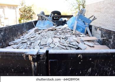 Construction Debris Pile