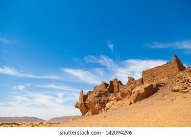 Construction in the desert
