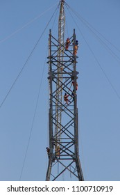 Construction of an energy tower