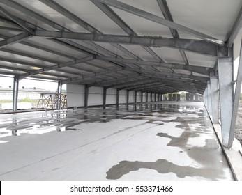 Construction of farm.