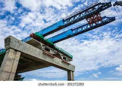 The construction of flyovers with innovation.