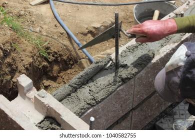 Construction of the garden