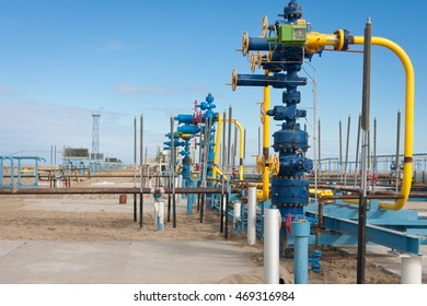 Construction of gas field