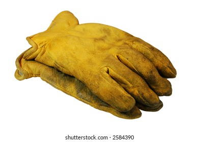 Construction Gloves (with Clipping Path)