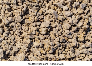Construction gravel as abstract background.