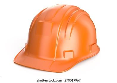 Construction Hard Hat isolated on white background