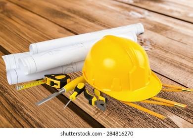 Construction, Hardhat, Work Tool.