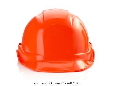 construction helmet isolated on white background