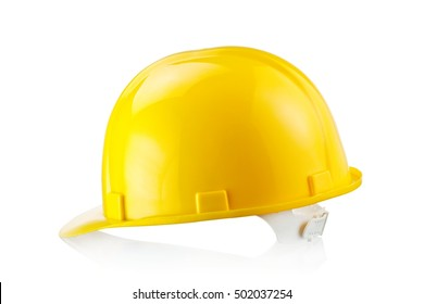 Construction helmet, side view
