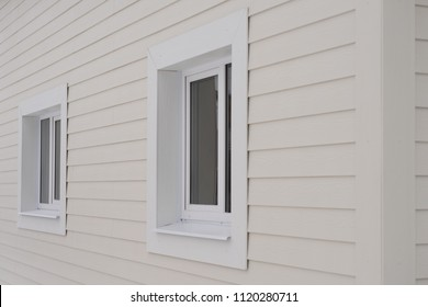 construction of the house, siding